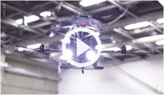 AUTONOMOUS FLYING SURVEILLANCE ROBOT